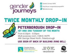 Gender Journeys Bi-Weekly Drop-In Peterborough