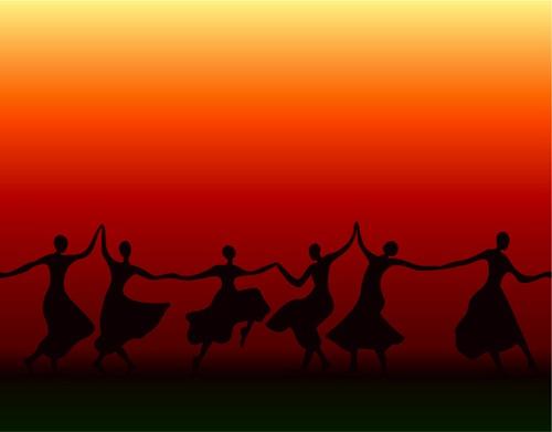 Танец зажимы в теле