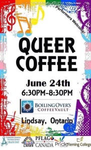 Queer Coffee Nights At Boiling Over Coffee Vault @ Boiling Over Coffee Vault | Lindsay | Ontario | Canada